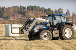 Тракторы Valtra на биогазе