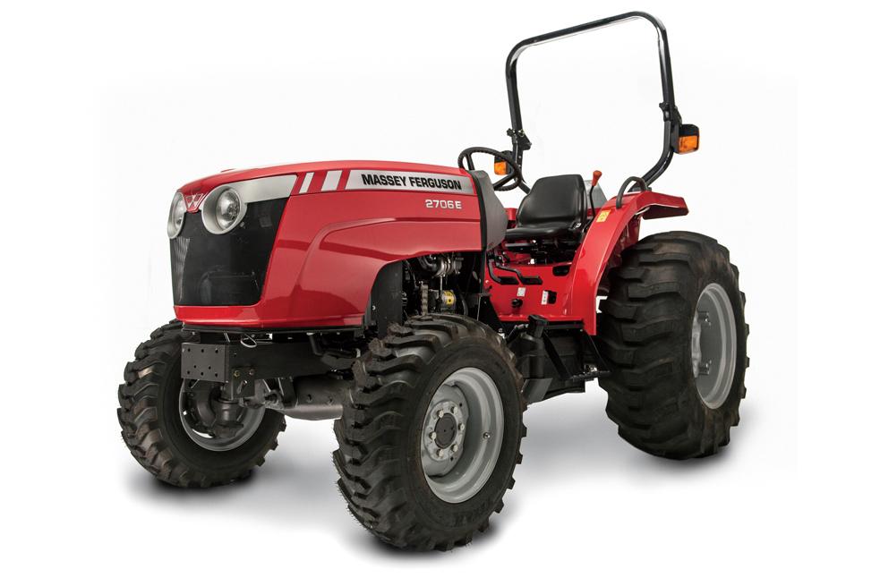 Мини трактор Massey Ferguson