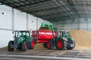 Новый трактор Fendt 500 Vario