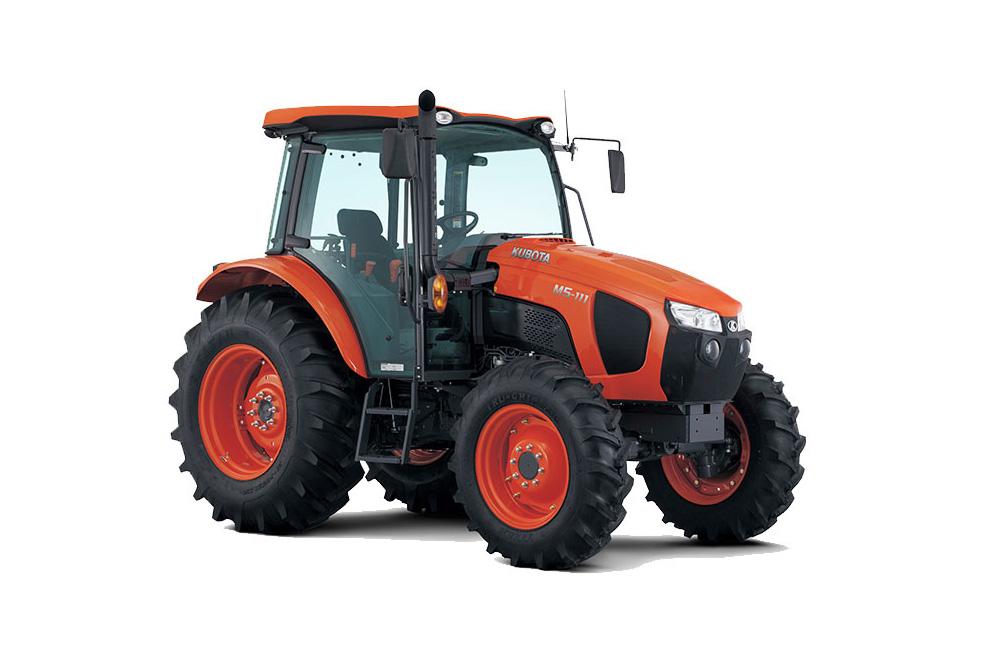 Новый трактор Kubota серии M5