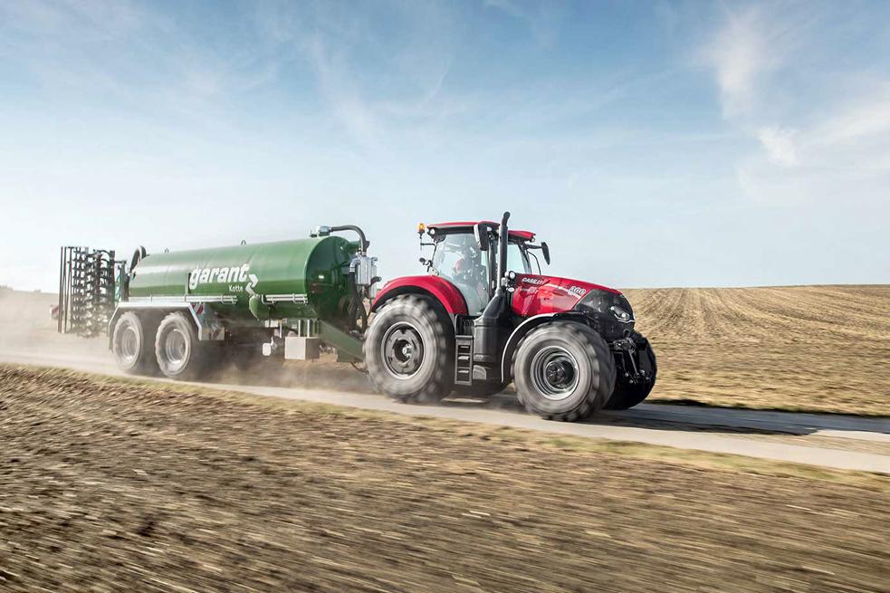 Новый трактор от Case IH
