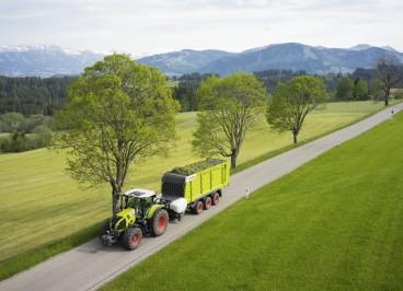 Новый трактор Claas Axion 870