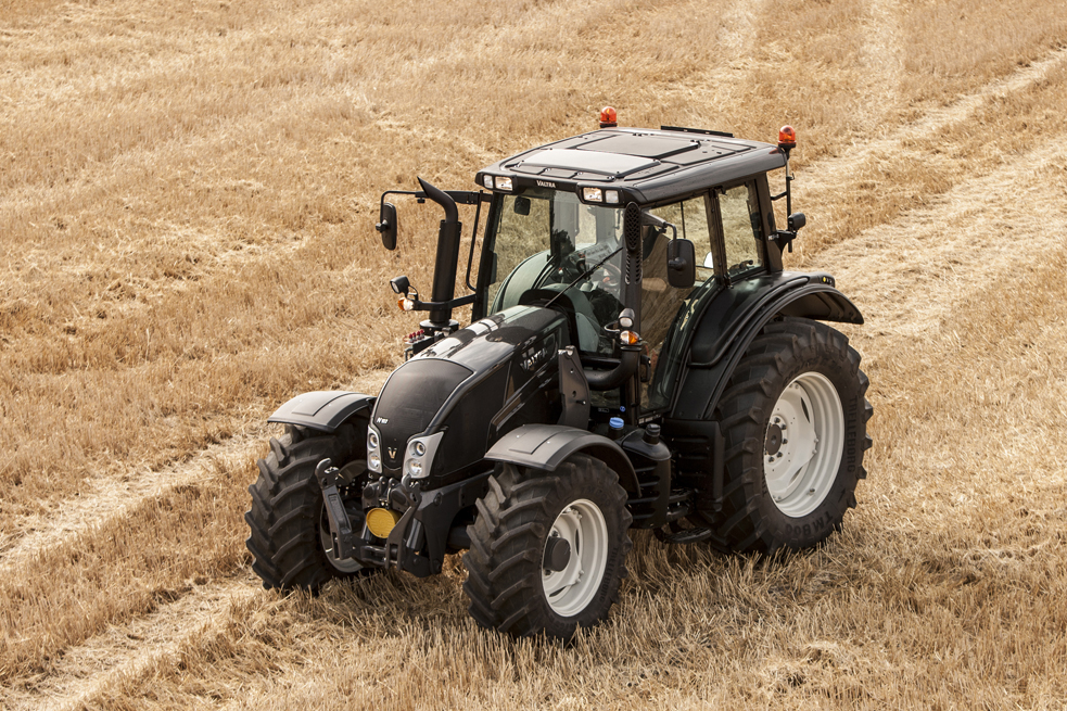Новые тракторы Valtra