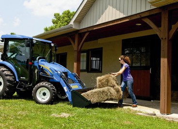 Новые мини тракторы New Holland