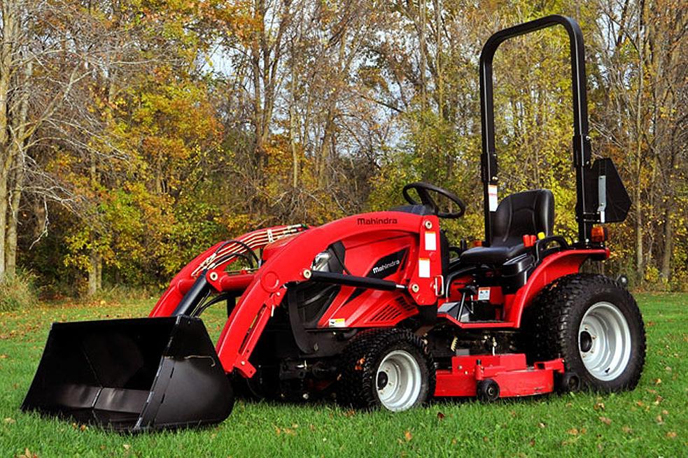 Новые тракторы Mahindra eMax, 1526, 2538
