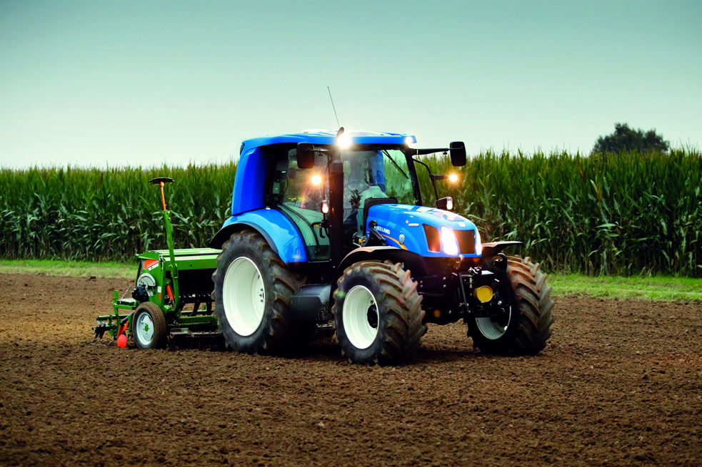 Новый трактор New Holland Methane Power