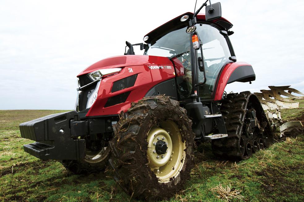 Новый трактор Yanmar